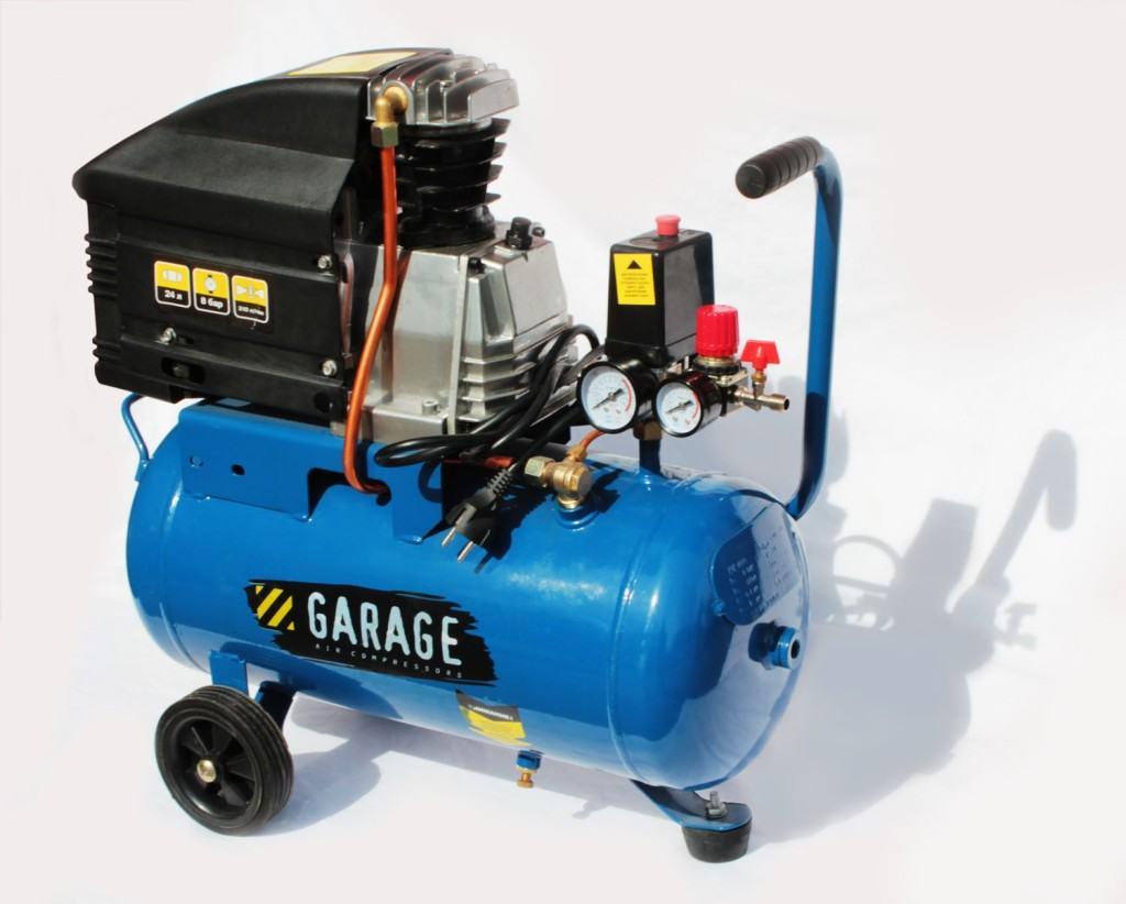 Стандартный поршневой компрессор для гаража