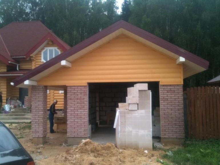 Строим гараж сами