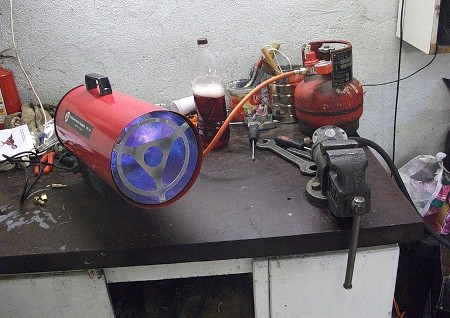 Тепловая пушка для гаража