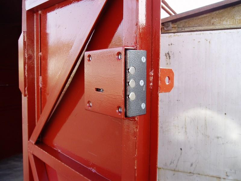 Укрепление ворот гаража