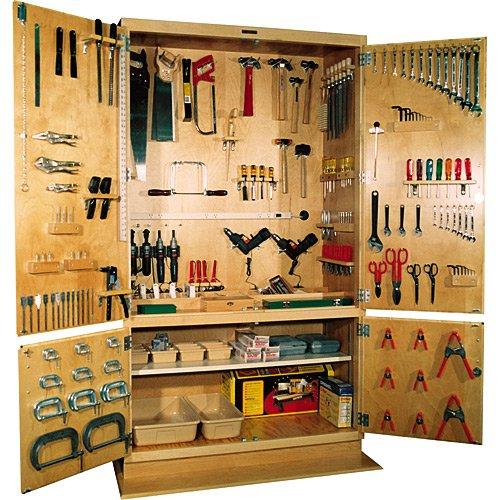 Полки в гараж для инструмента своими руками