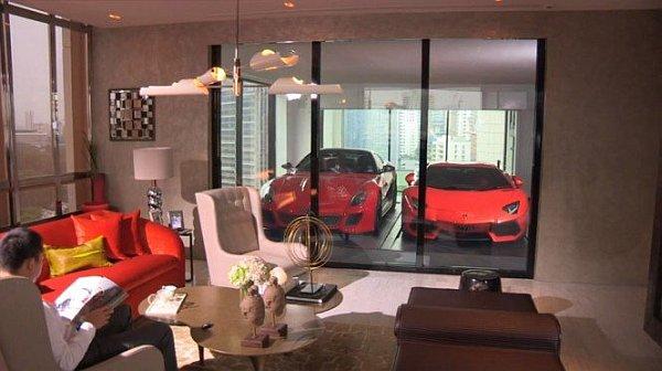 Дизайн комнаты в стиле гараж