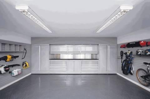 Дизайн внутри гаража