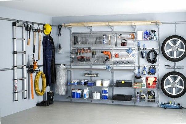 Используем гараж для хранения
