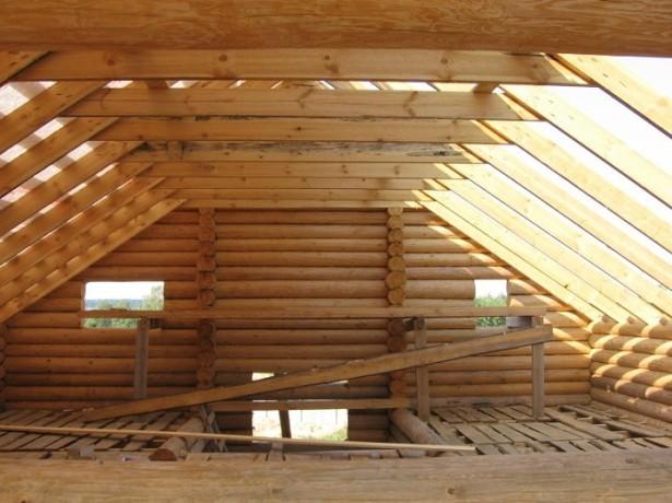 Конструкция стропильных ферм крыши