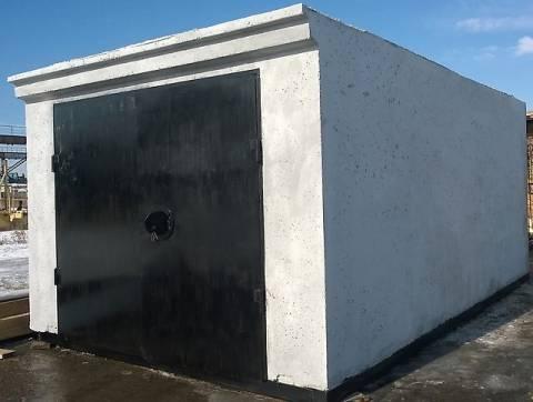 Монолитный блок для гаража