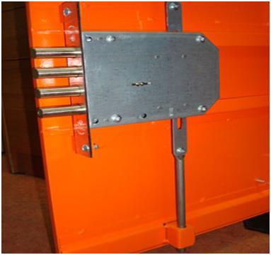 Монтаж врезного замка без металлического короба