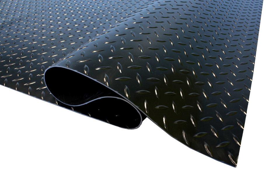 Пример рулонного покрытия с рельефной поверхностью