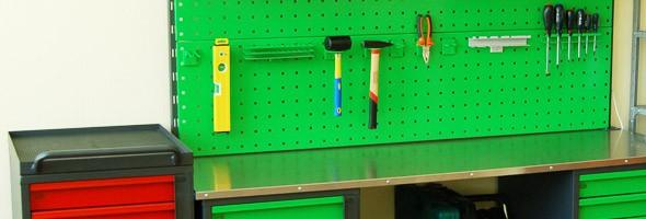 Самодельный верстак для гаража