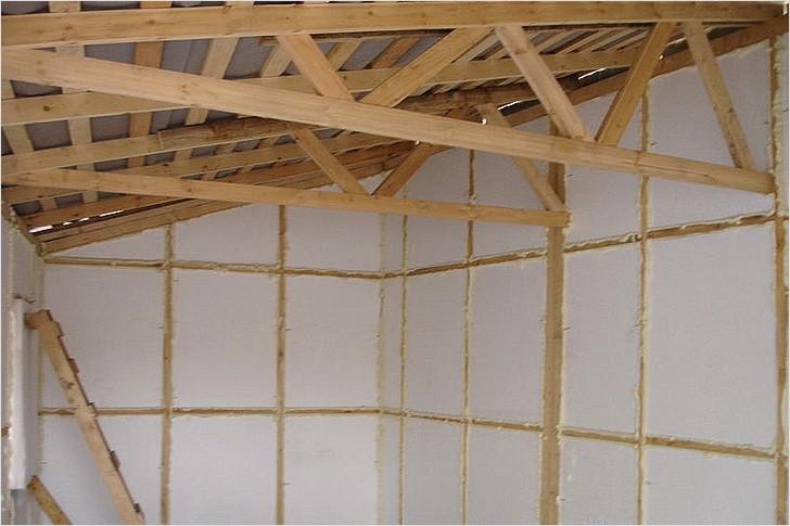 Сендвичные панели для строительства гаража