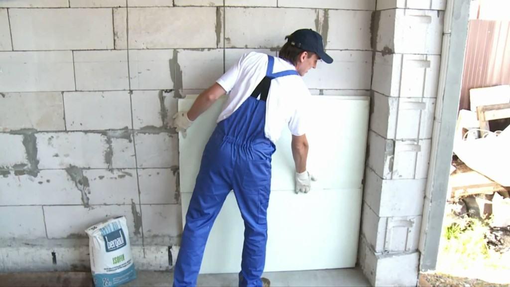 Утепление стен пенопластом для устранения конденсата