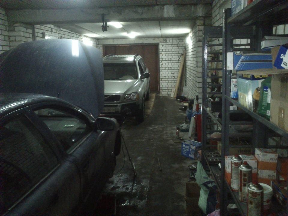 Фото автомастерской в гараже