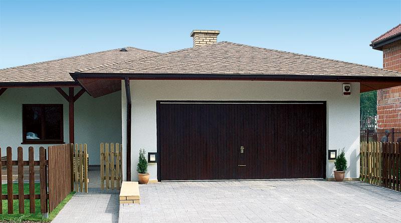 Красивый фасад гаража