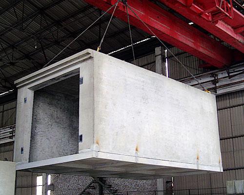 Монолитный ЖБИ гараж с металлическим фундаментом