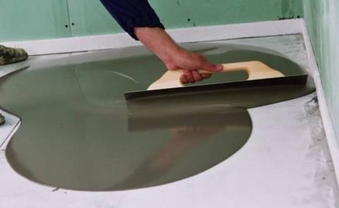 Нанесение полимерного резинового покрытия фото