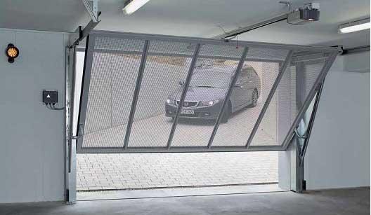 Остекление гаражных ворот