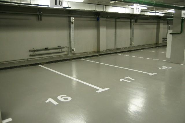 Применение наливного пола для гаража
