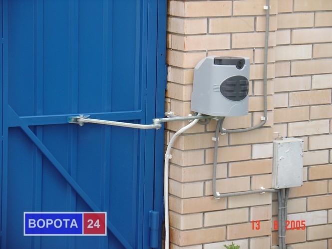 Схема управление воротами гаража