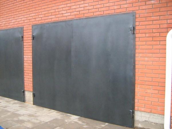 Стальные гаражные ворота
