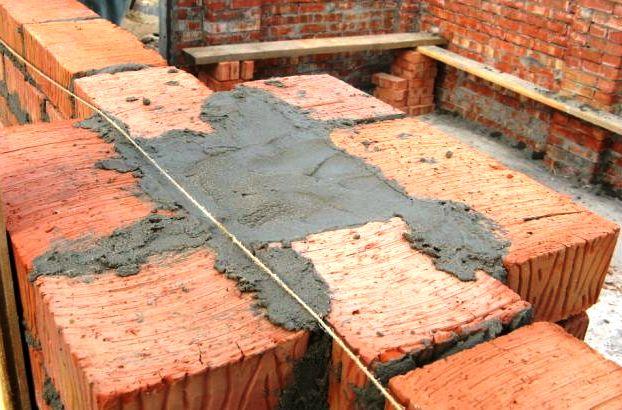 Усиление кирпичной стены под плиты перекрытия