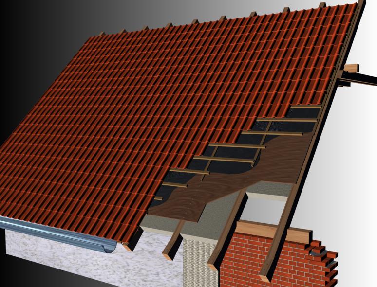 Устройство крыши с уклоном в одну сторону
