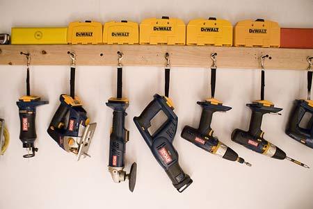 Хранение небольших инструментов