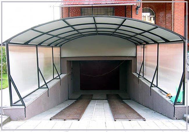 Делаем въезд в подземный гараж