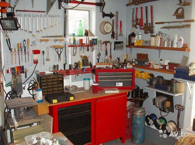 Фото оборудования для гаража своими руками
