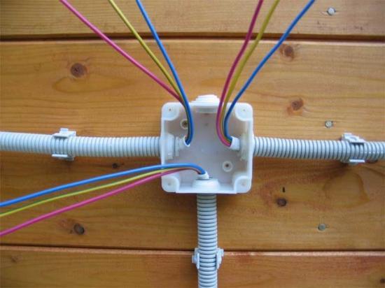 Как сделать проводку в гараже при помощи коробов