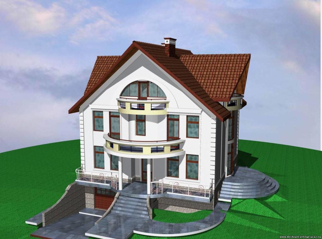 Многоэтажный жилой дом с подземным гаражом