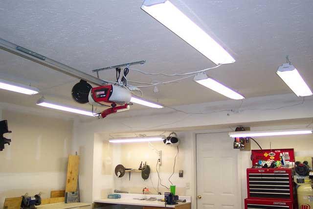 Определяем зоны освещения в гараже