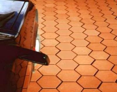 Применяем для отделки тротуарную плитку