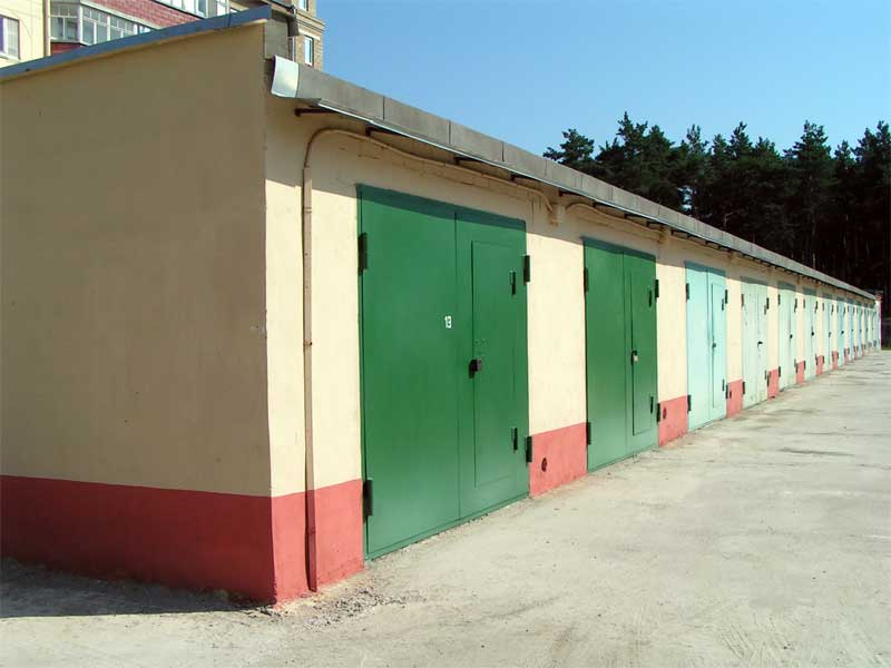 Пример кооперативной постройки в одном боксе