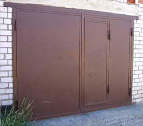 Производство гаражных ворот металлических