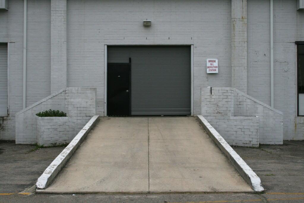 Устройство въезда в гараж