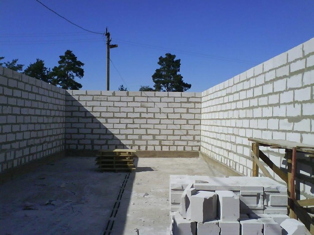 Расчет кирпича на строительство гаража