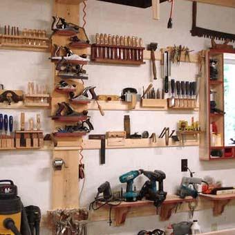 178 Приспособления для хранения инструмента в гараже