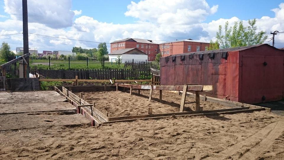 Выделение земли под строительство гаражей