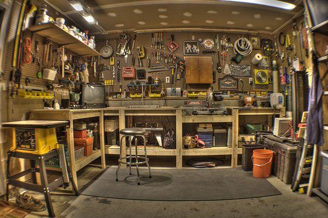 Полезные приспособы для гаража