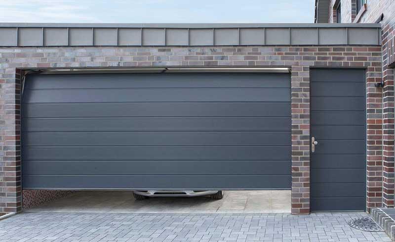 Размеры гаражных секционных ворот