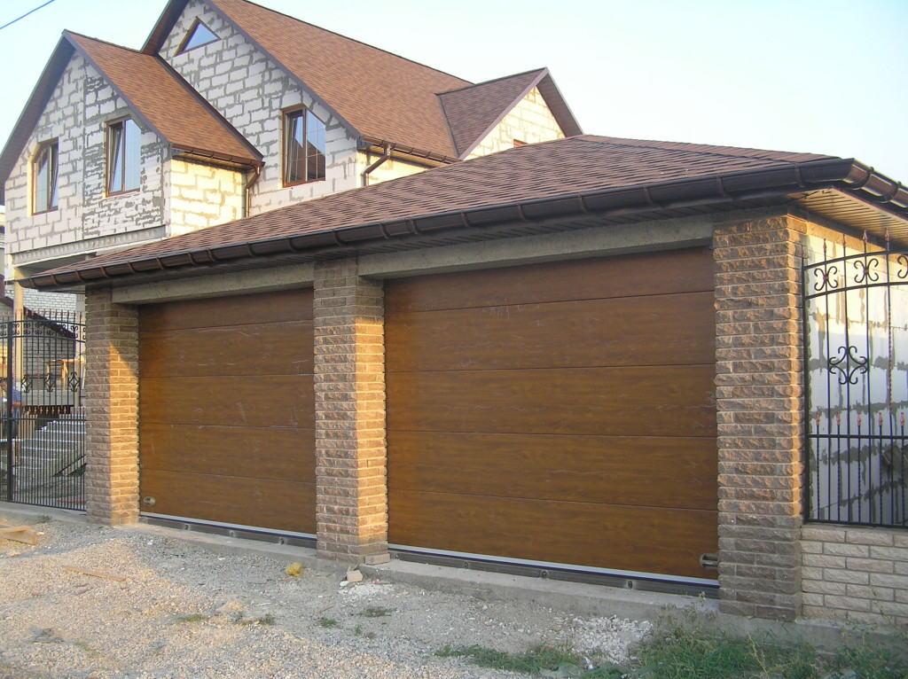Стандартная высота гаражных ворот