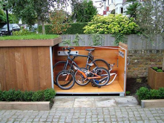 Велосипедный гараж