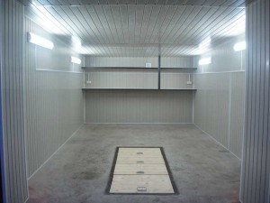Отделка гаража