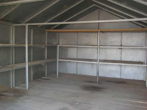 Металлические стеллажи для гаража.