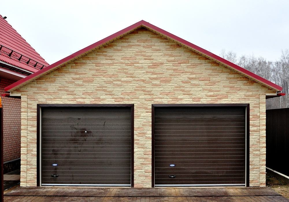 Проект гаража 2 две машины