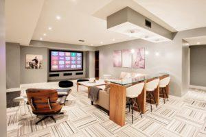 Как преобразовать подвальное помещение в комнату для отдыха