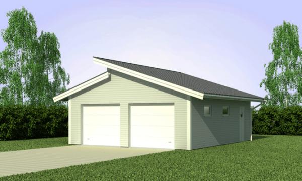 Оформить построенный гараж