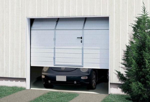 Секционные гаражные ворота.