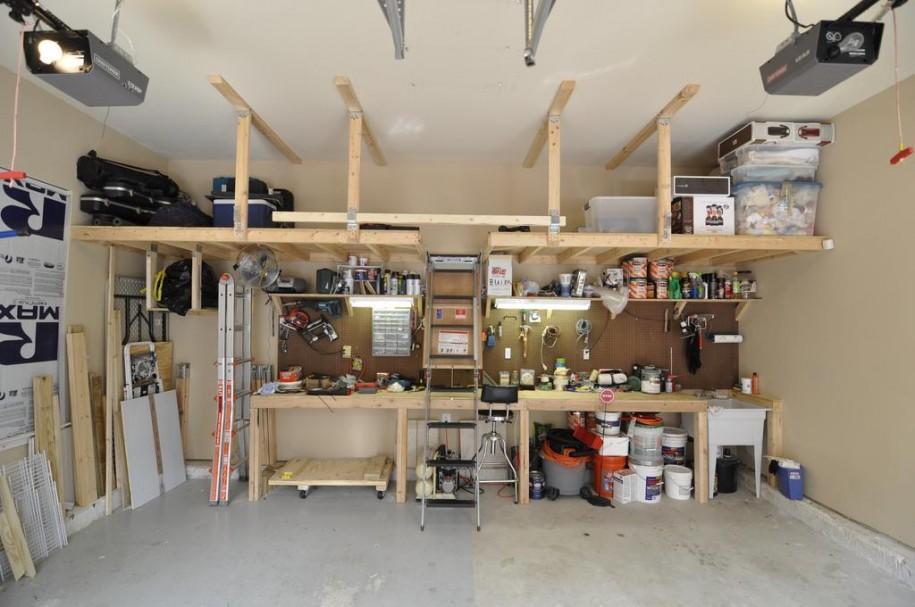 Как оборудовать рабочее место в гараже своими руками 15