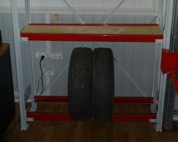 Стеллажи для хранения колес шин дисков